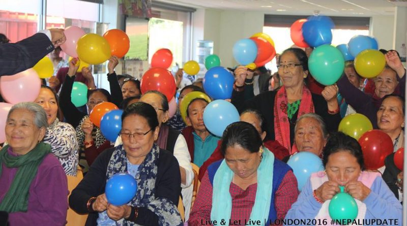 Hundreds attended Indra Gurung's Hug & Heal Workshop